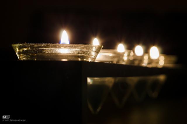 levende lys